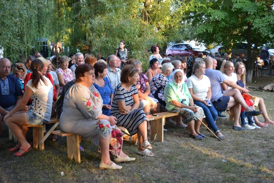 На святкування Дня Мачухівської ОТГ приїхали з трьох районів