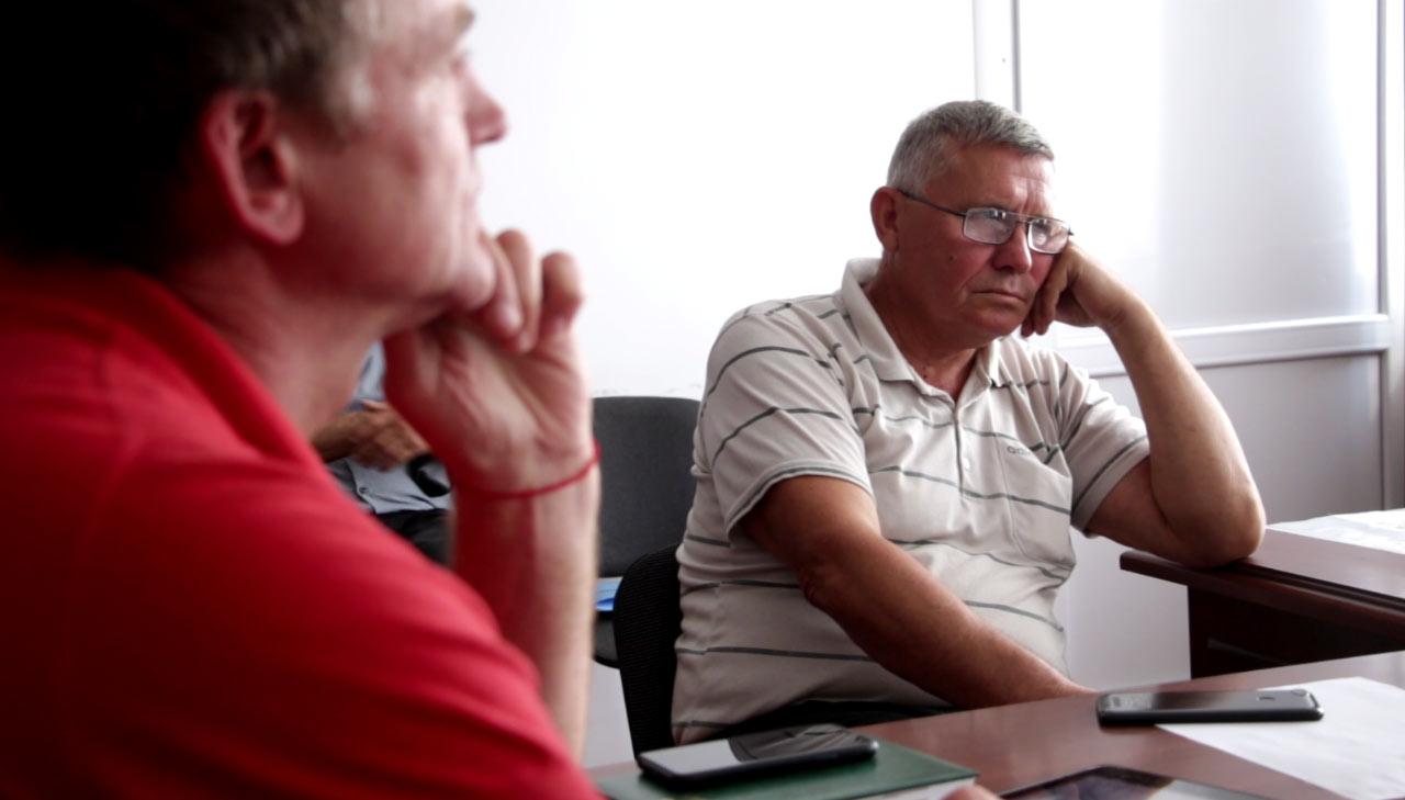 Депутат Щербанівської сільради Віктор Зайцев — один із членів ініціативної групи
