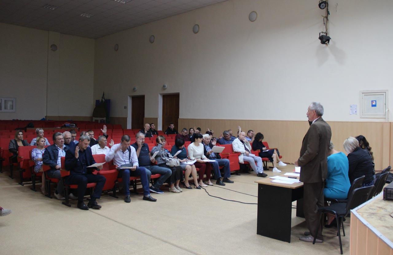 Відбулася чергова 24 сесія Щербанівської сільської ради