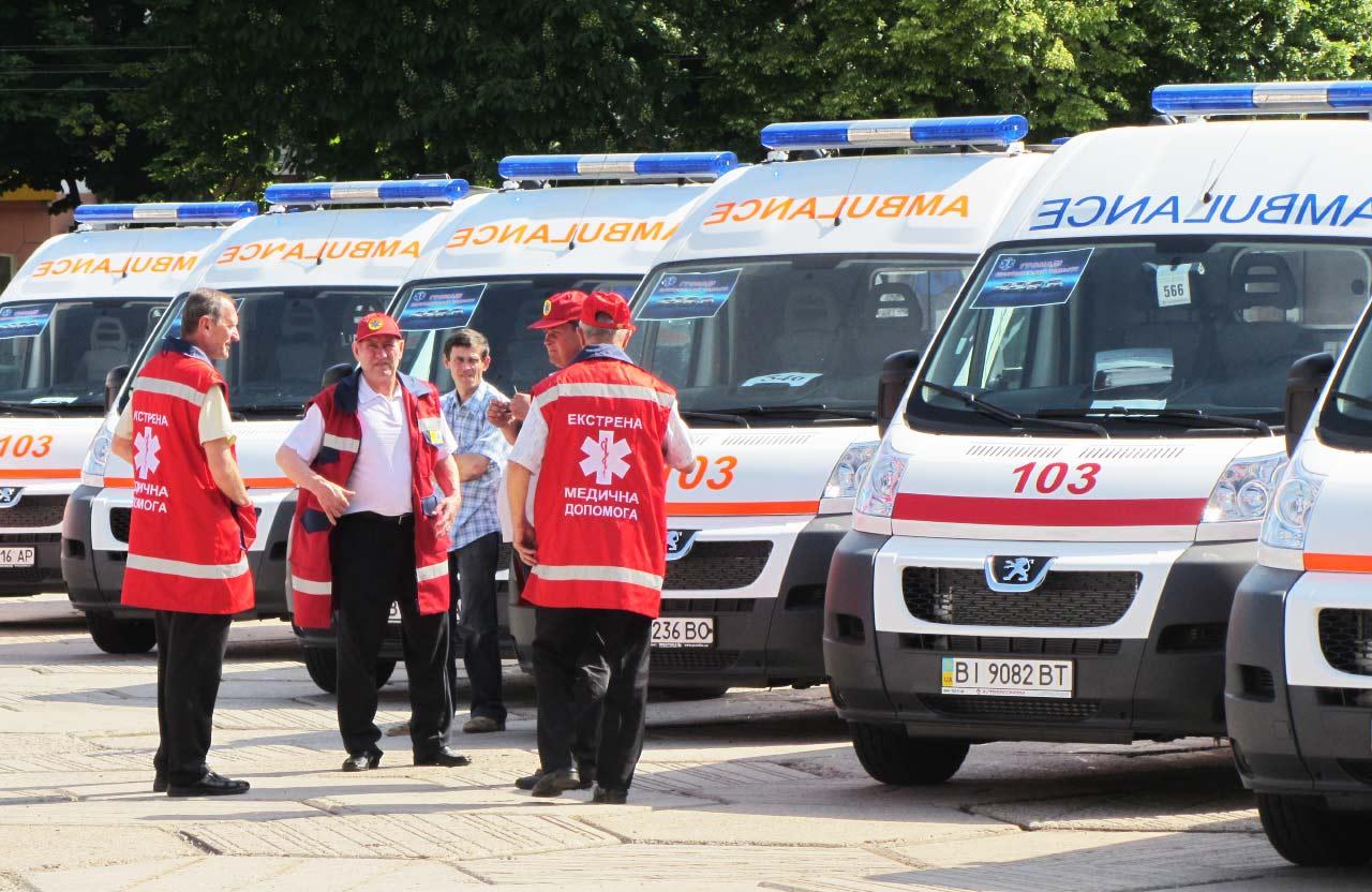 Презентація нових автомобілів швидкої допомоги у 2014 році