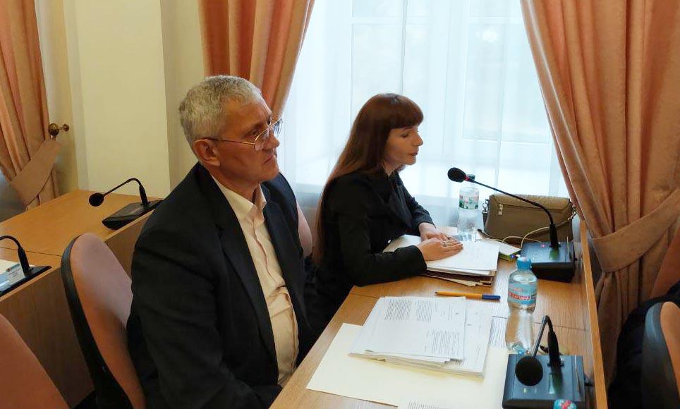 Микола Перепелиця та Тетяна Паутова