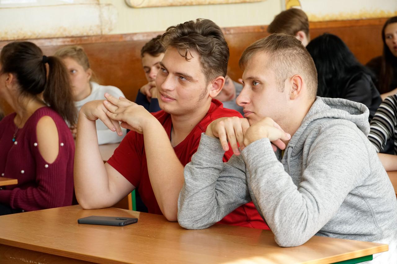 Разом із учнями Полтавського ЗВО № 22 вели підрахунок вартості робіт із видобутку вуглеводнів в Україні