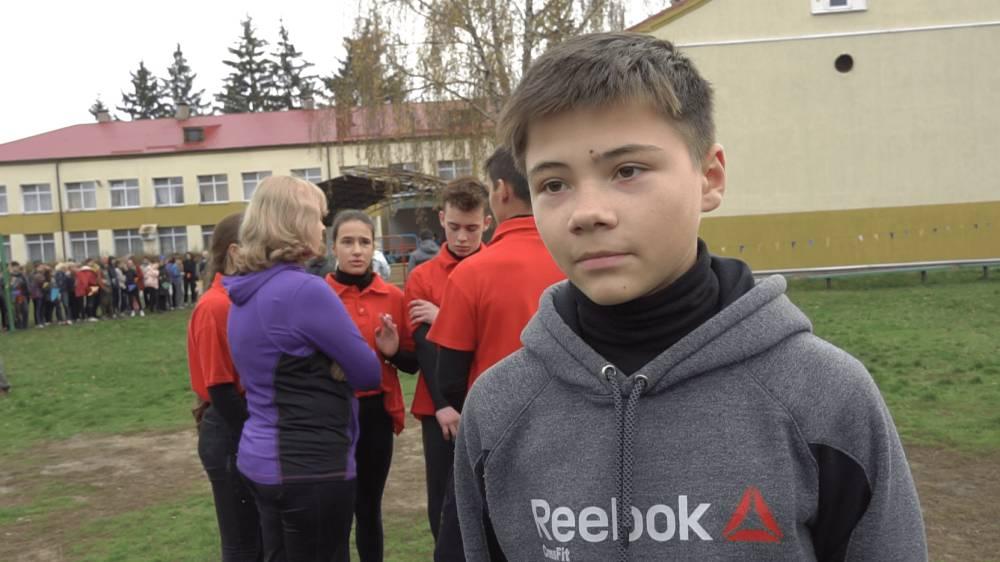 Учасник гри з команди «Соколята» Олександр Ніколаєнко