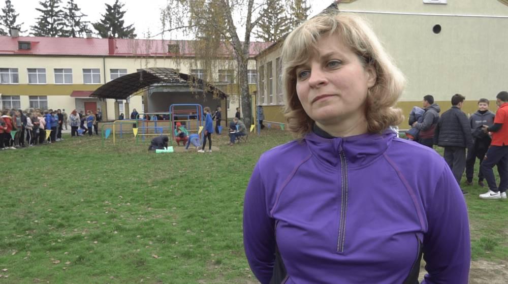 Керівниця команди «Соколята» з Миргороду Олена Ярославська