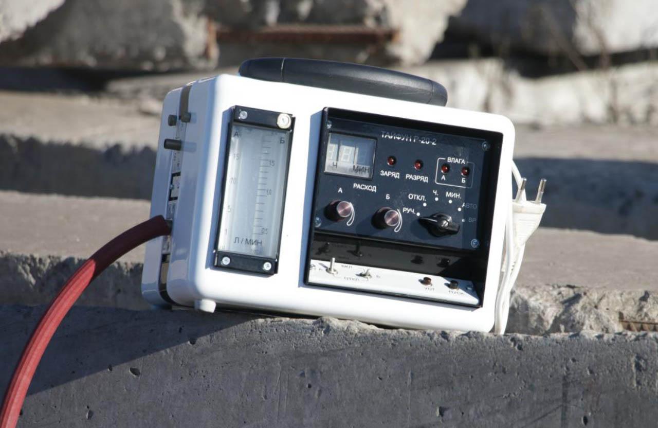 Пристрій для вимірювання викидів у повітрі