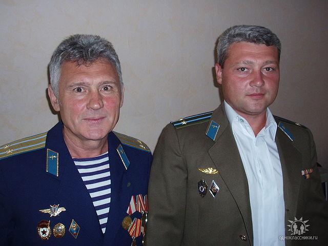 Віктор Борзілов з сином — Євгеном Борзіловим