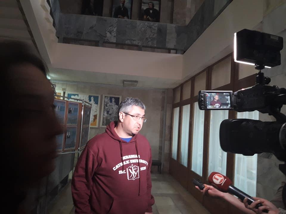 Інтервю для полтавських медіа