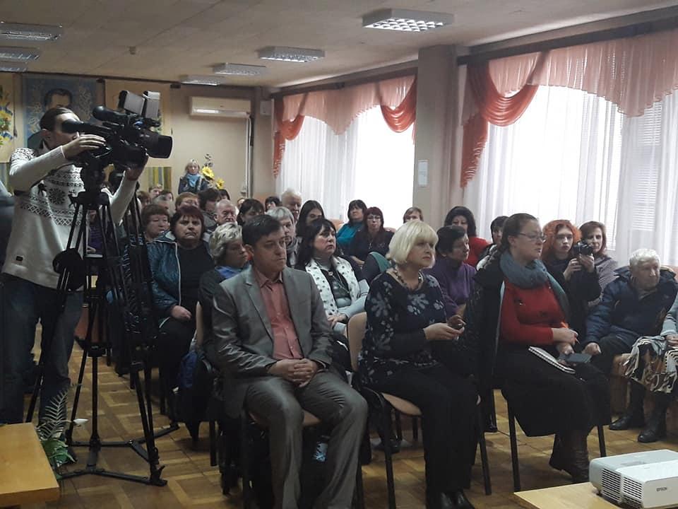 Учасники презентації у обласній бібліотеці ім.Котляревського