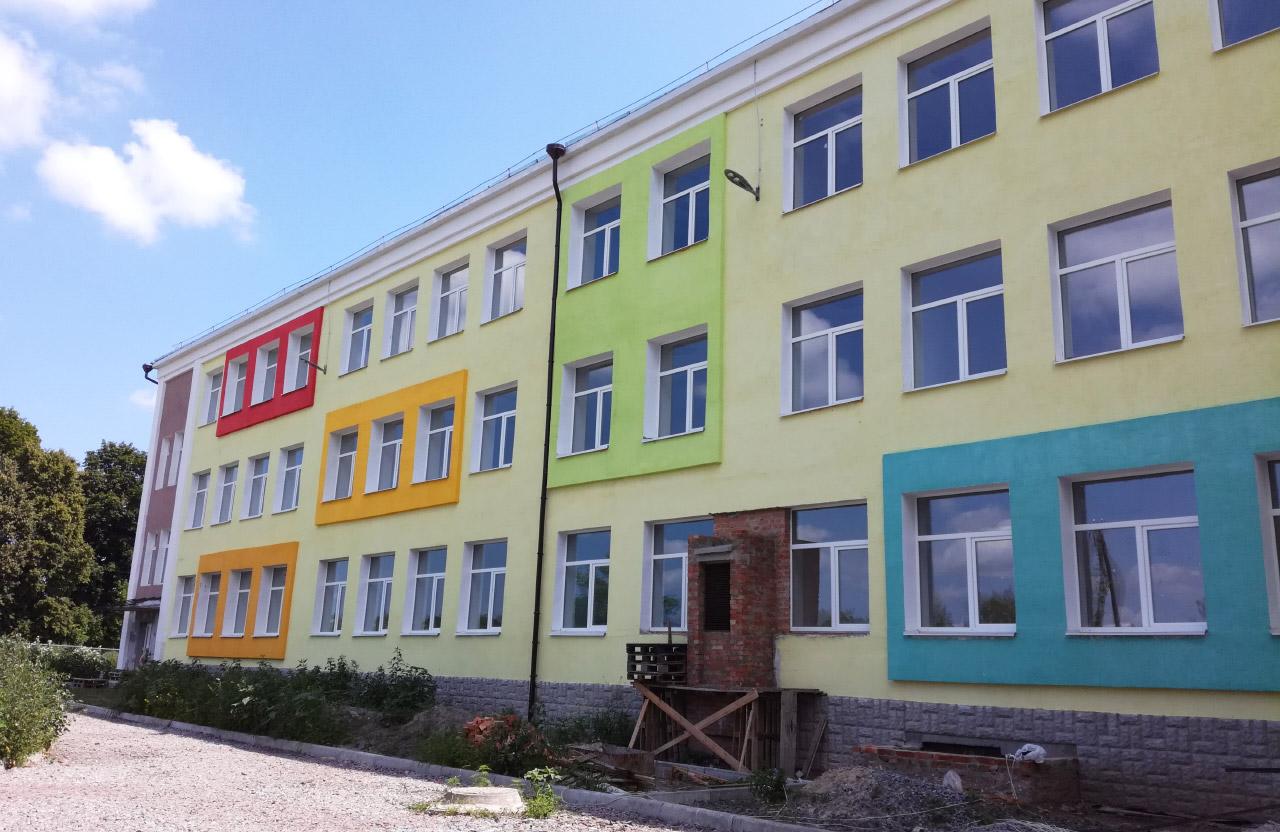 Будівництво нового корпусу школи у Заводському