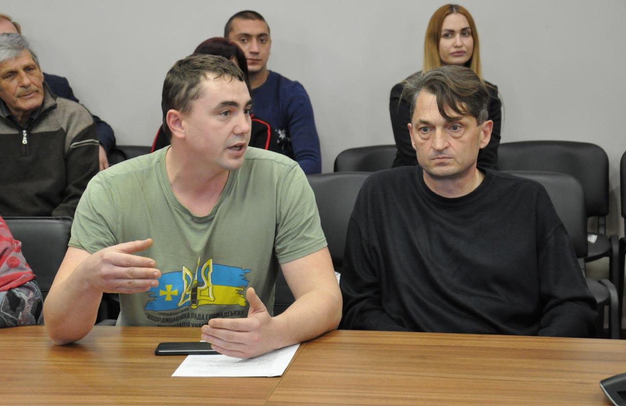 Віталій Діденко та Олександр Русін