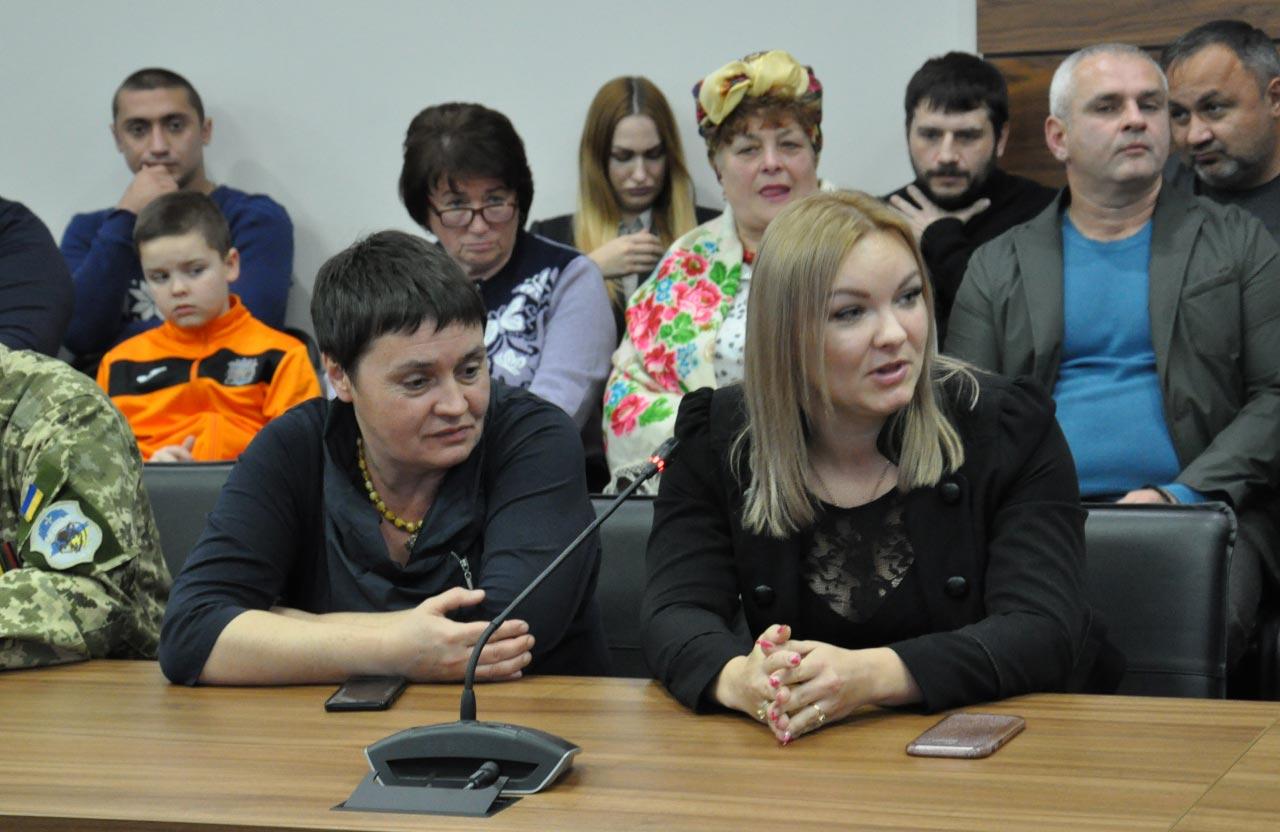 Оксана Андрієвська та Ольга Барсукова