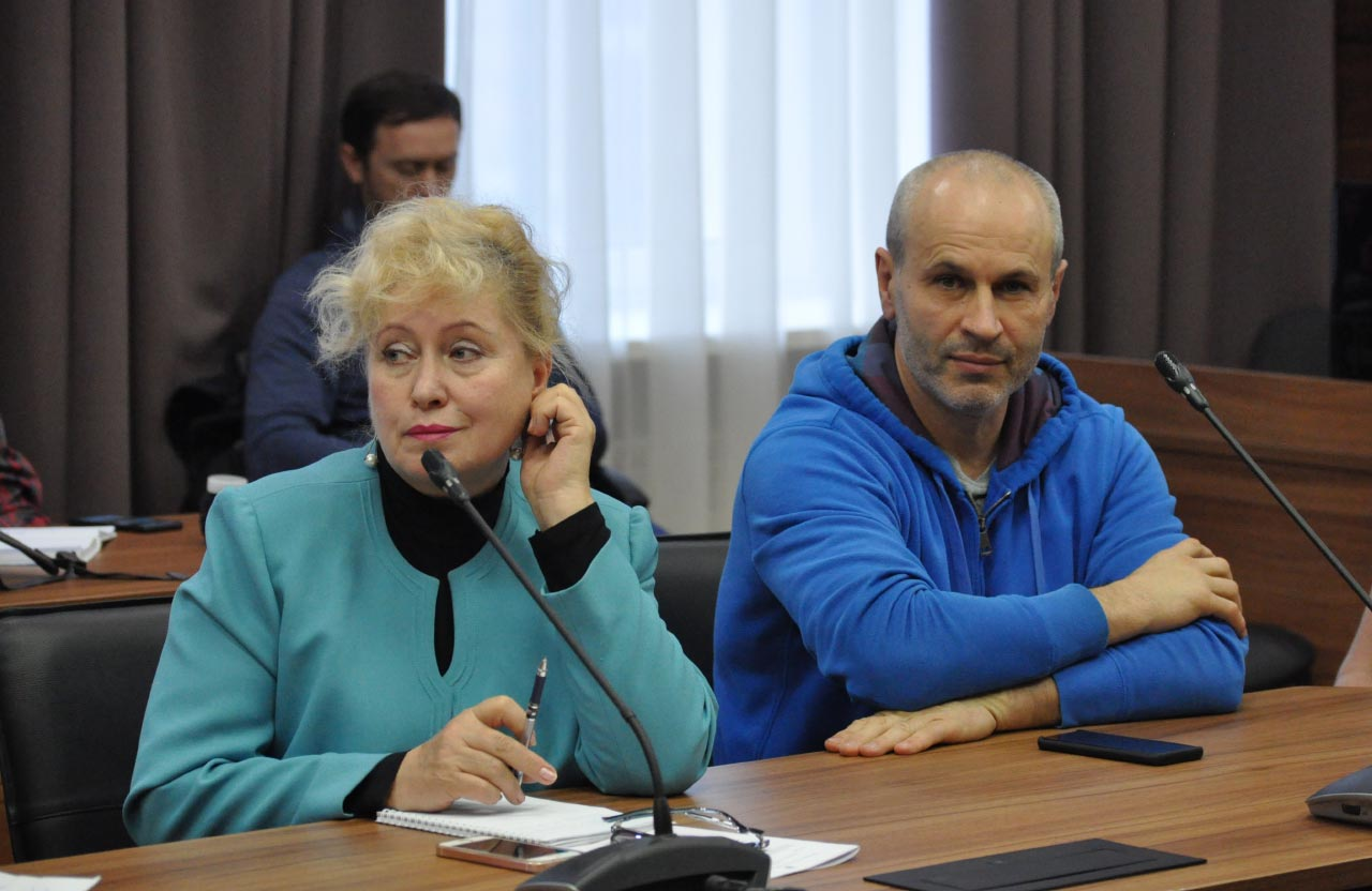 Людмила Кучеренко та Геннадій Сікалов