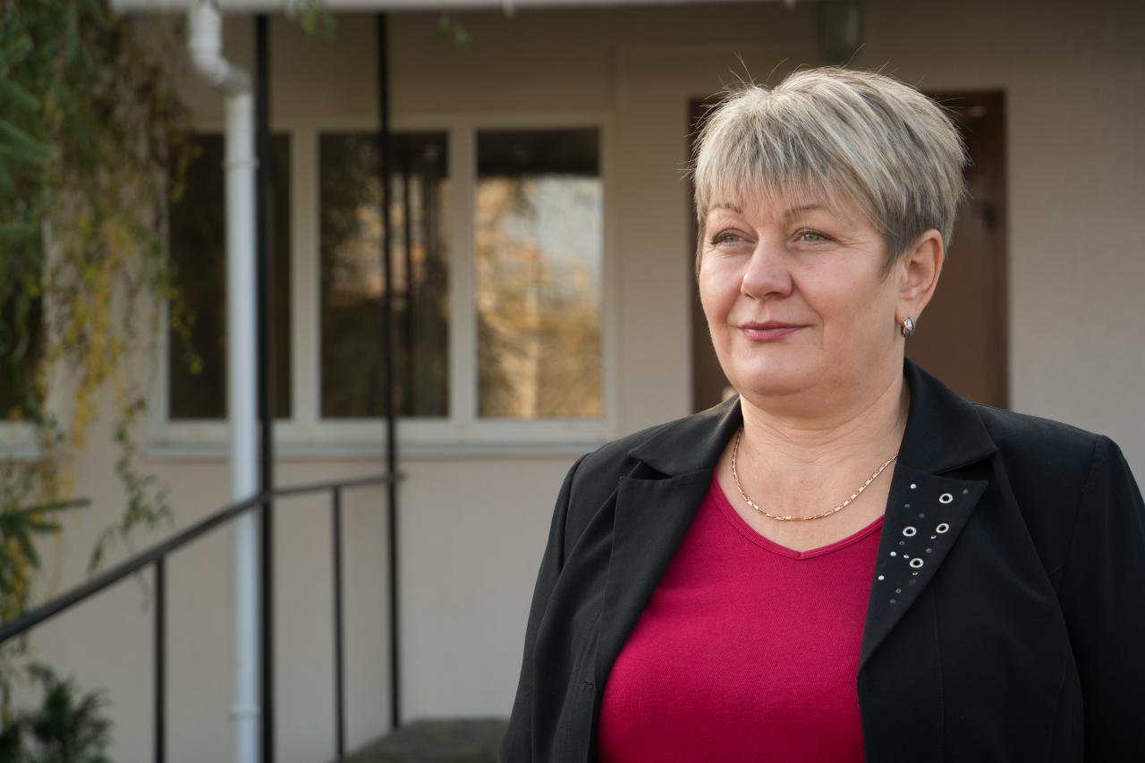 Галина Кононенко, староста Великоперевізького округу