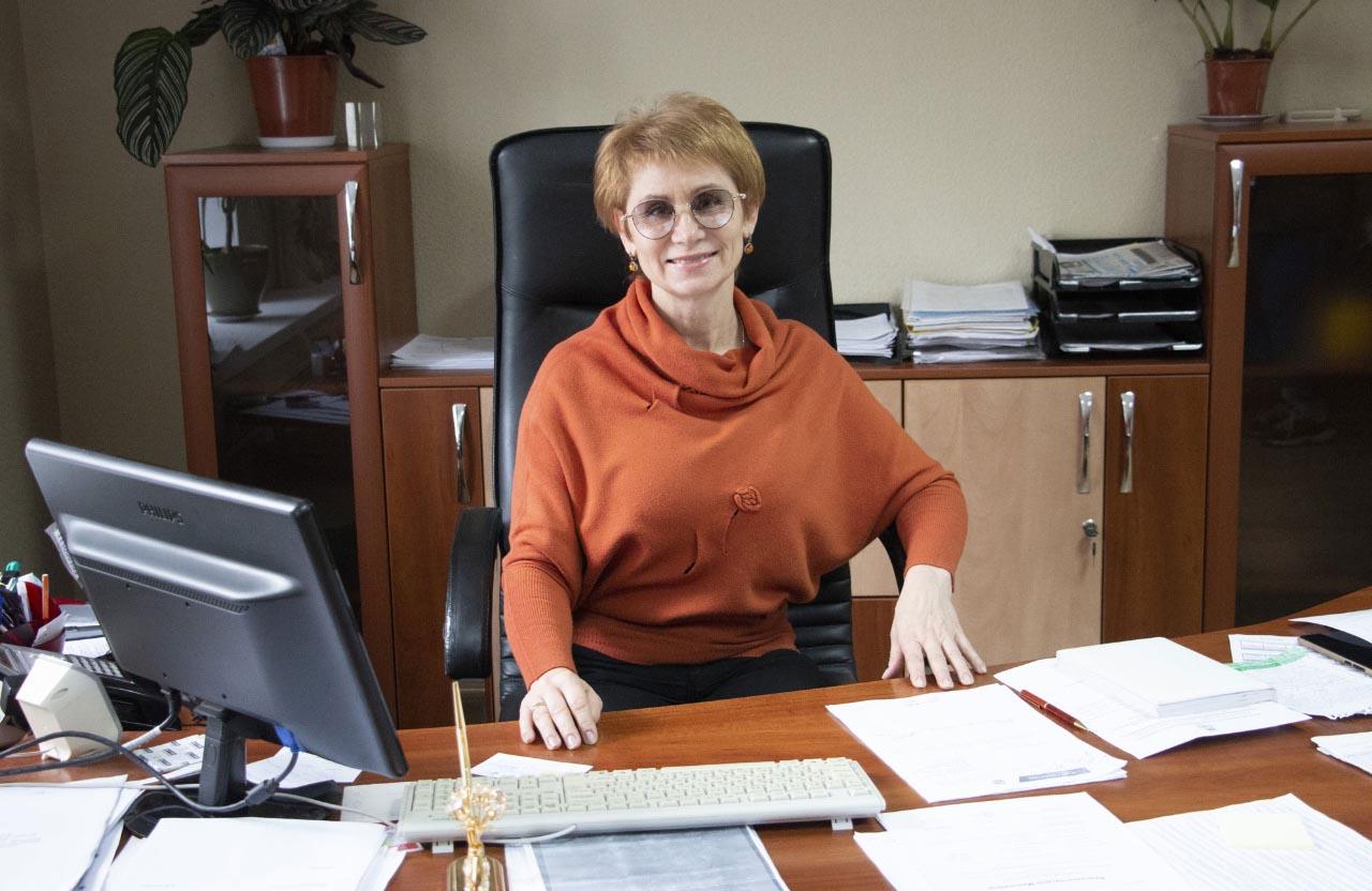 Начальниця відділу по роботі з фізичними особами служби обліку та реалізації КП ПОР «Полтававодоканал» Любов Войтенко