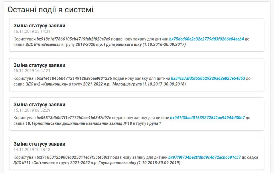 Публічний перелік транзакцій у блокчейні Bloqly