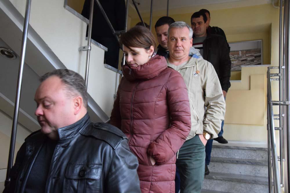 Під час евакуації у офісах ГПУ «Полтавагазвидобування»