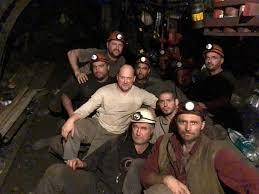 Сергій Каплін більше тижня провів під землею з шахтарями аби їм повернули мільш ніж мілярдну заборгованість по зарплатам: Каплін і шахтарі тоді перемогли уряд.