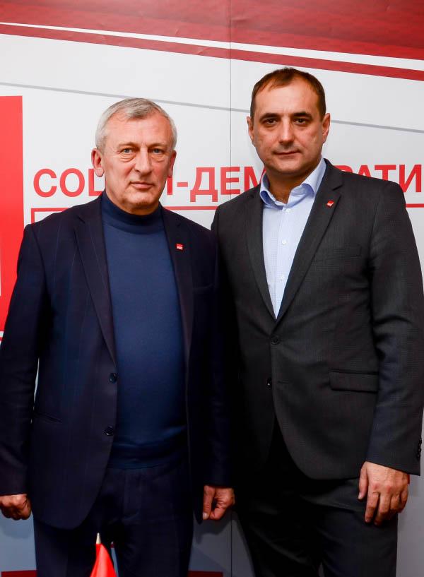 Олександр Сугоняко та Валерій Прядко