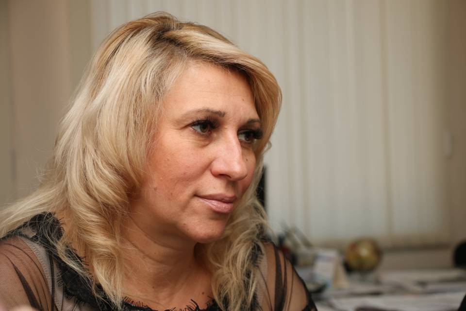 Представниця від с. Крутий Берег Світлана Харенко