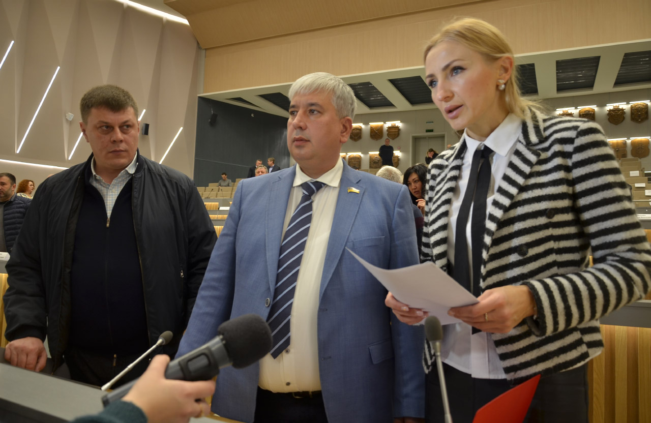 Юрій Тимоха, Руслан Ляшко та Ірина Степаненко