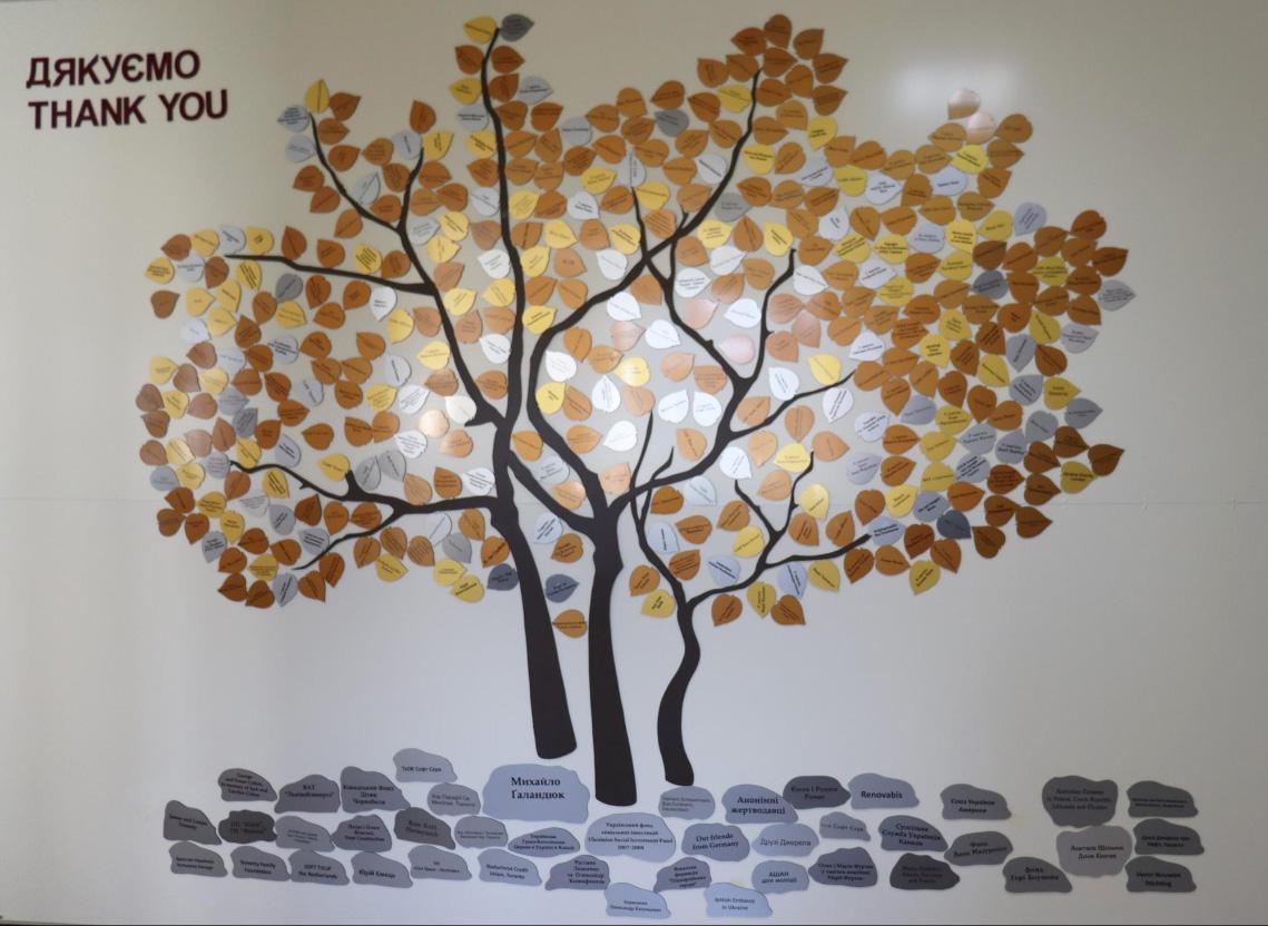Дерево донорів у «Джерелі»
