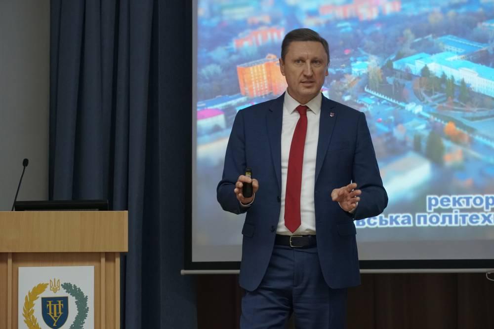 Ректор Національного університету «Полтавська політехніка імені Юрія Кондратюка» розповідає про ребрендинг вишу та можливості для абітурієнтів