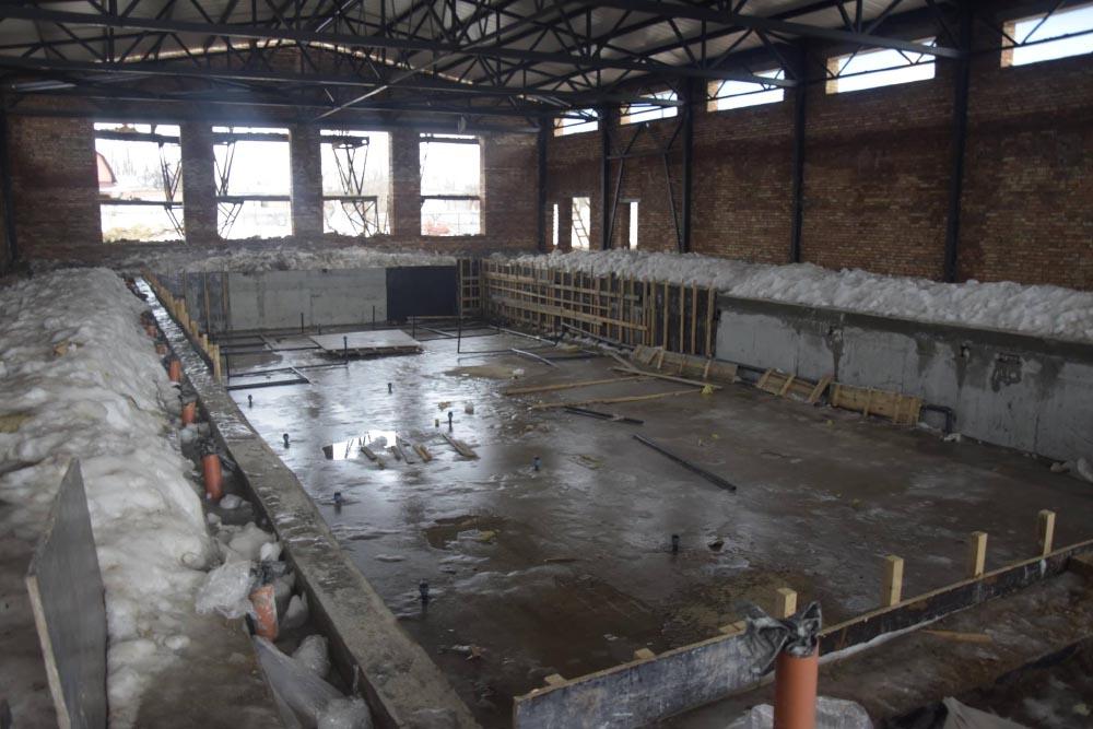 Будівництво басейну, яке завершиться в 2020 році
