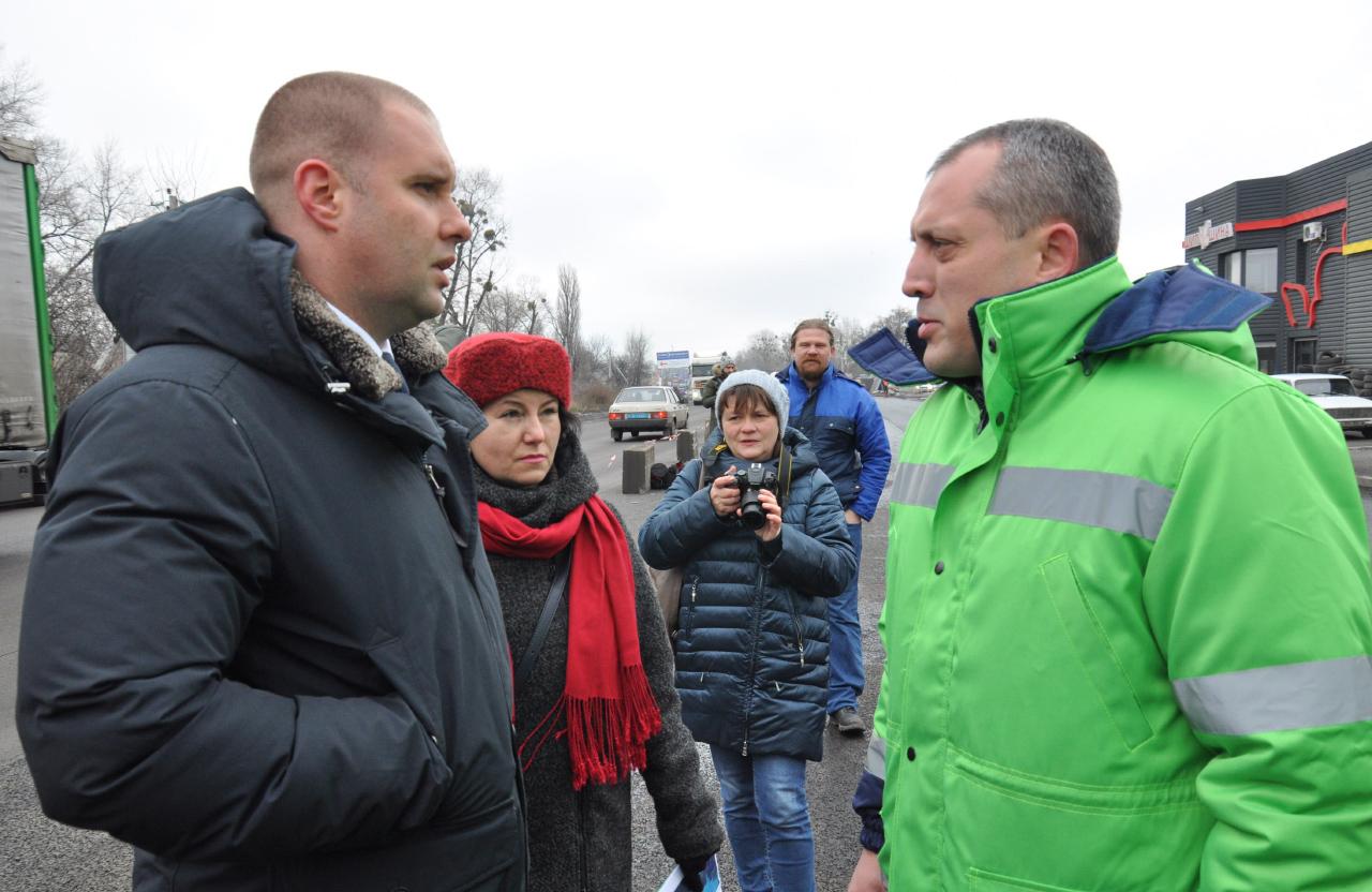 Олег Синєгубов та Олексій Басан