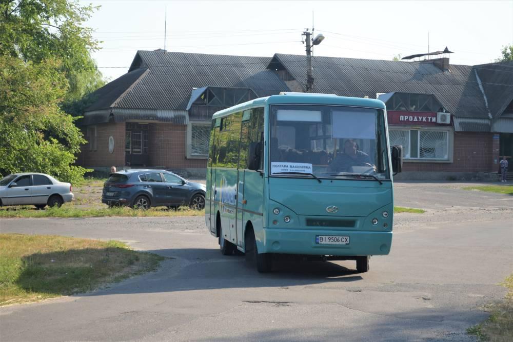Автобус відправялється у перший рейс з Василівки