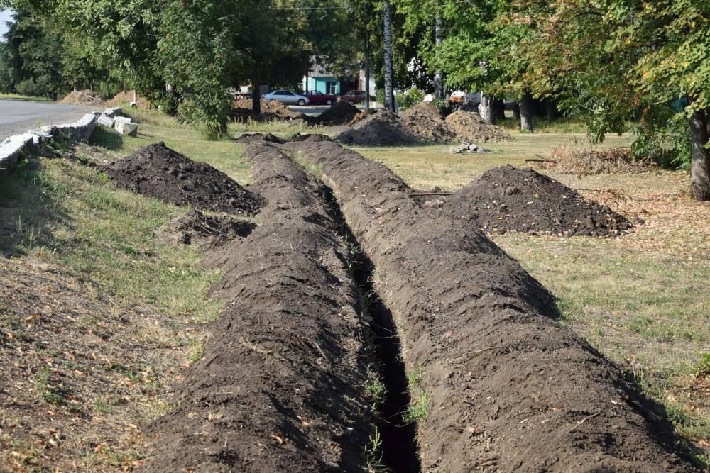 Будівництво нового водогону розпочалася в середині серпня