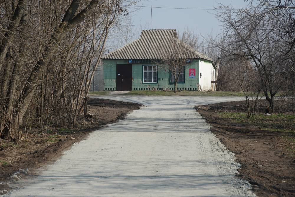 Нова щебенева дорога у Степанівці