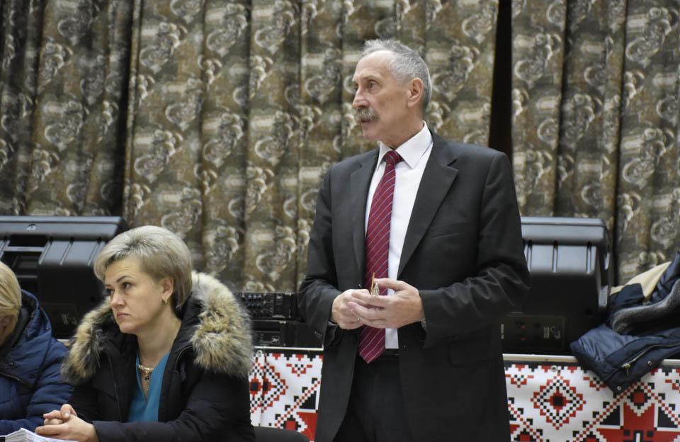 Голова Щербанівської сільської ради Ігор Процик звітується за 2019 рік
