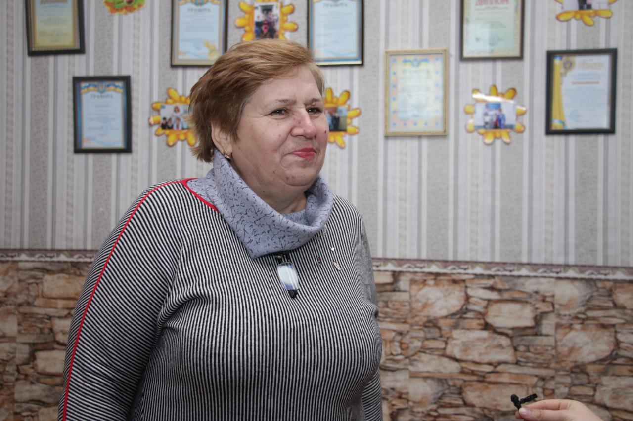 Ольга Лук'янченко, директорка Василівської школи