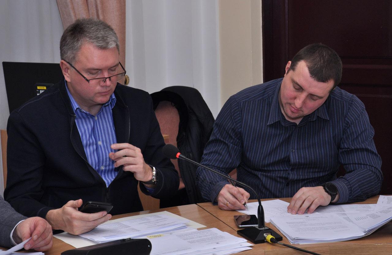Олег Бєлоножко та Юрій Синяк