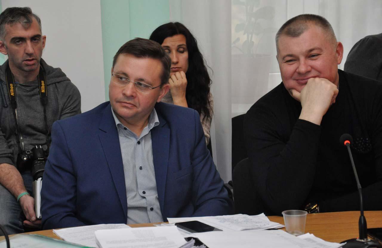 Володимир Корчака та Вячеслав Федоряка