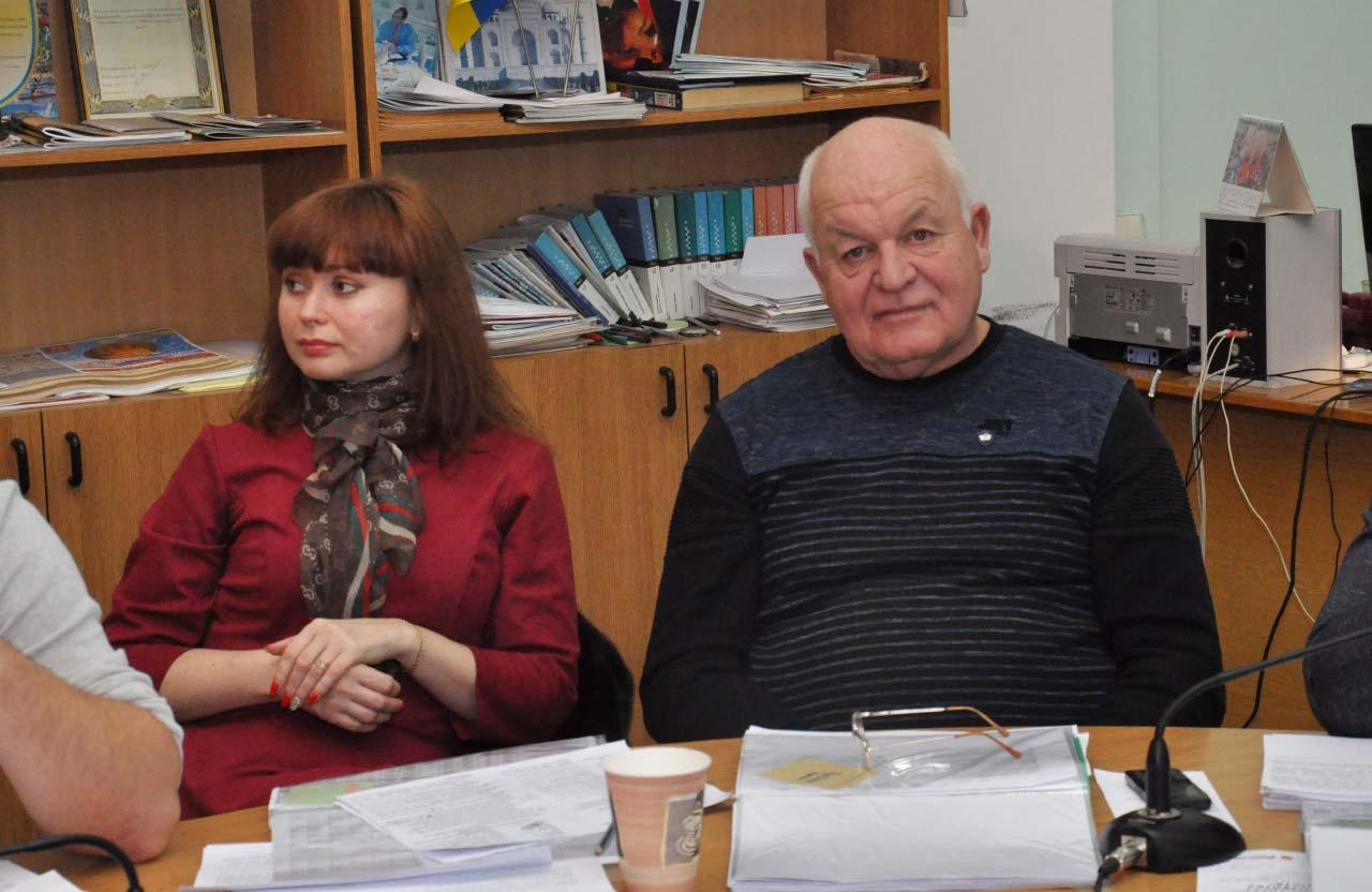 Олена Чірікова-Зоріна та Григорій Сахно
