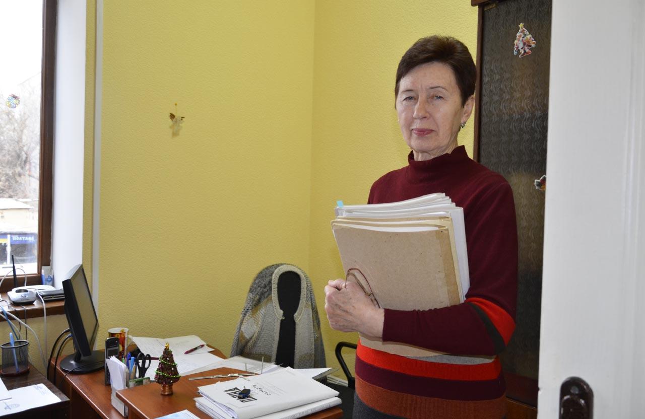 Ніна Єрохіна, начальник відділу адміністративної роботи