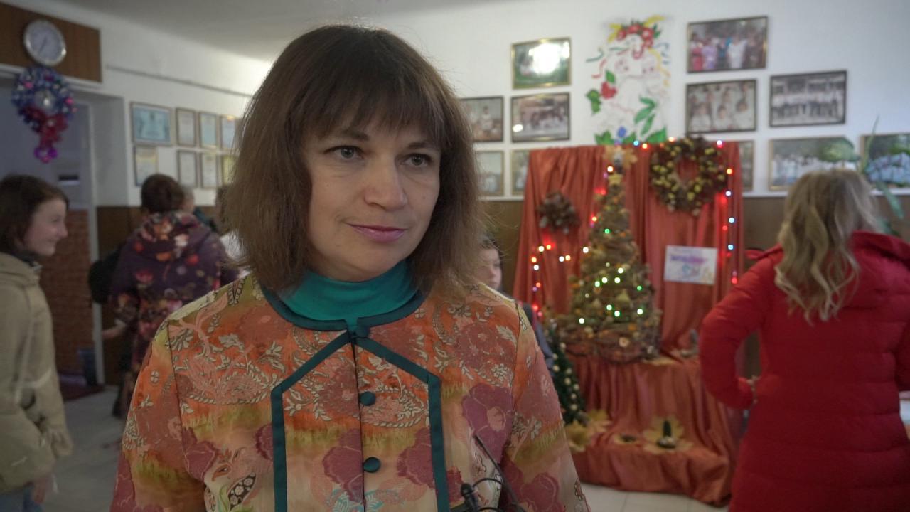 Директорка Староаврамівської школи Інна Пупченко