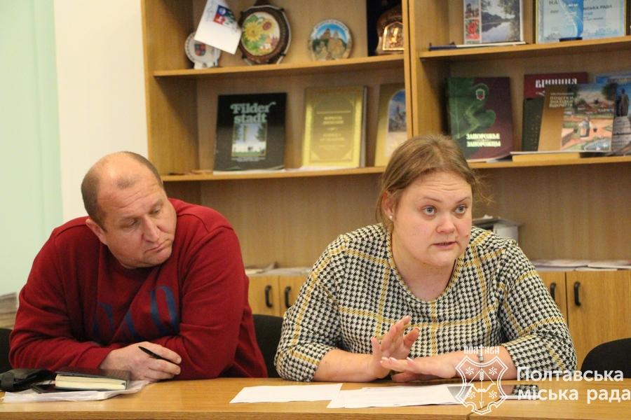 Представники «Алмаз-Полтава»