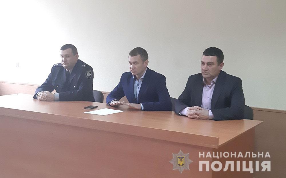 Машівське відділення поліції очолив Костянтин Лебідь
