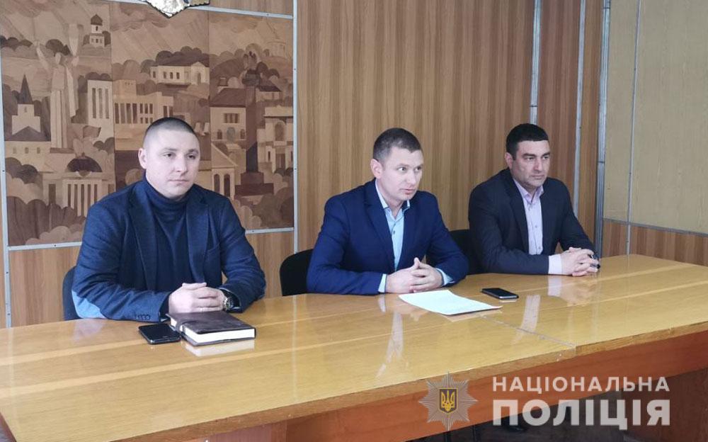 Карлівський відділ поліції очолив Петро Семенюта
