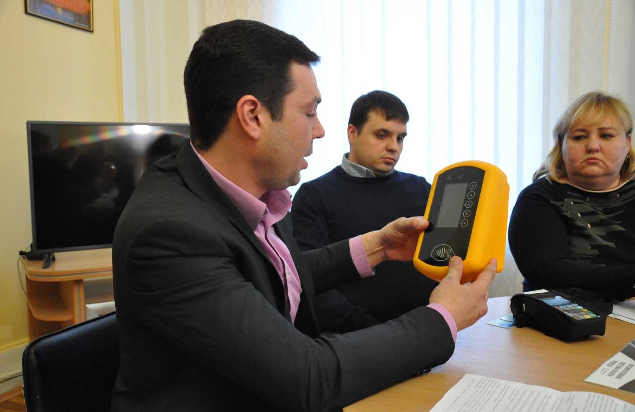 Представники «Укр-Спец-Софт» з валідатором