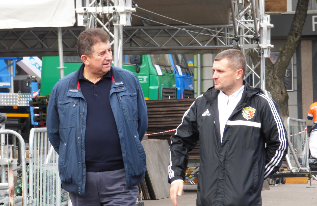 Олександр Удовіченко та Олексій Чепурко