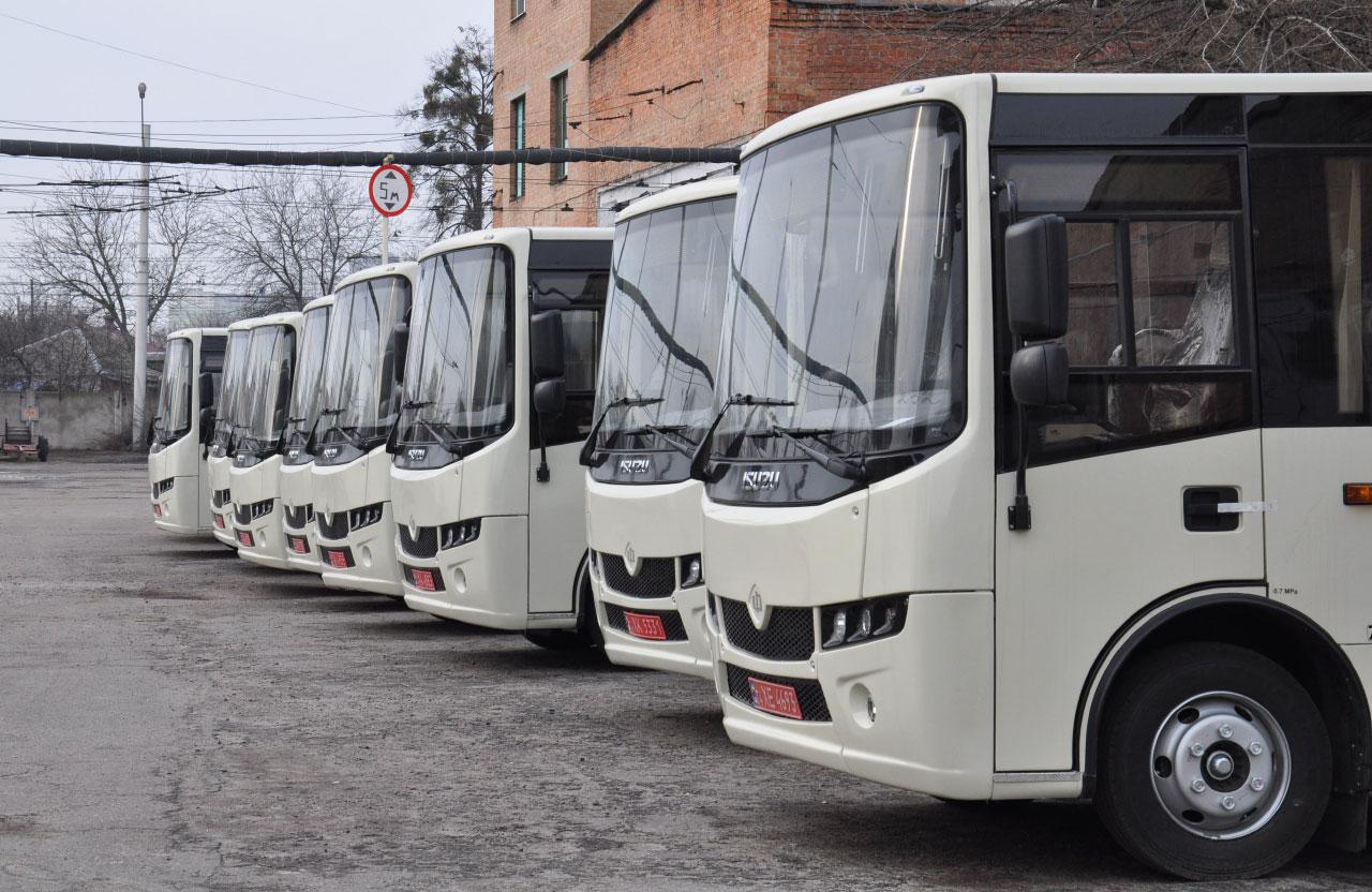 Нові автобуси Ataman
