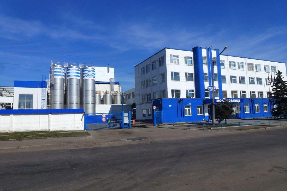 Danone — відомий виробник молочних та інших харчових продуктів, який діє на території області