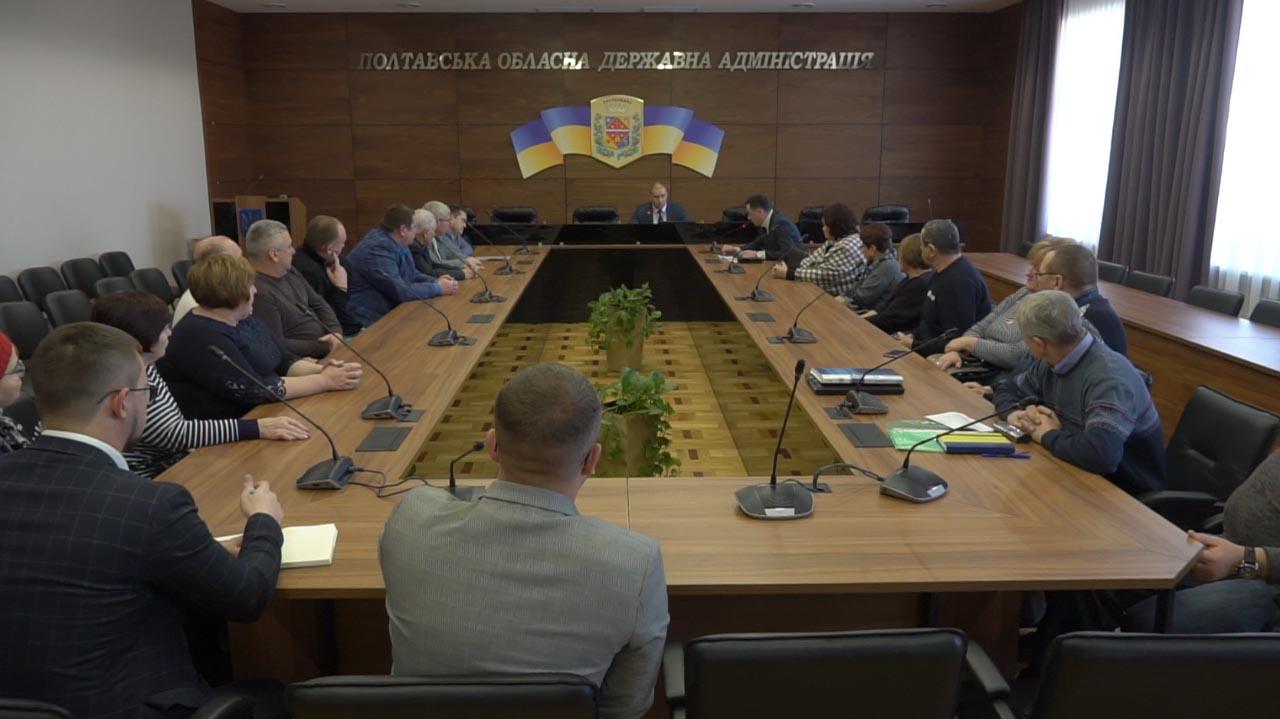 На зустріч з губернатором прийшли представники чотирьох сільських рад