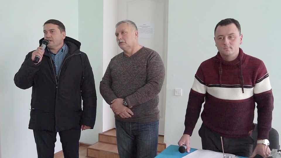 Андрій Кубрак, Олександр Кулініч та Євген Почечун