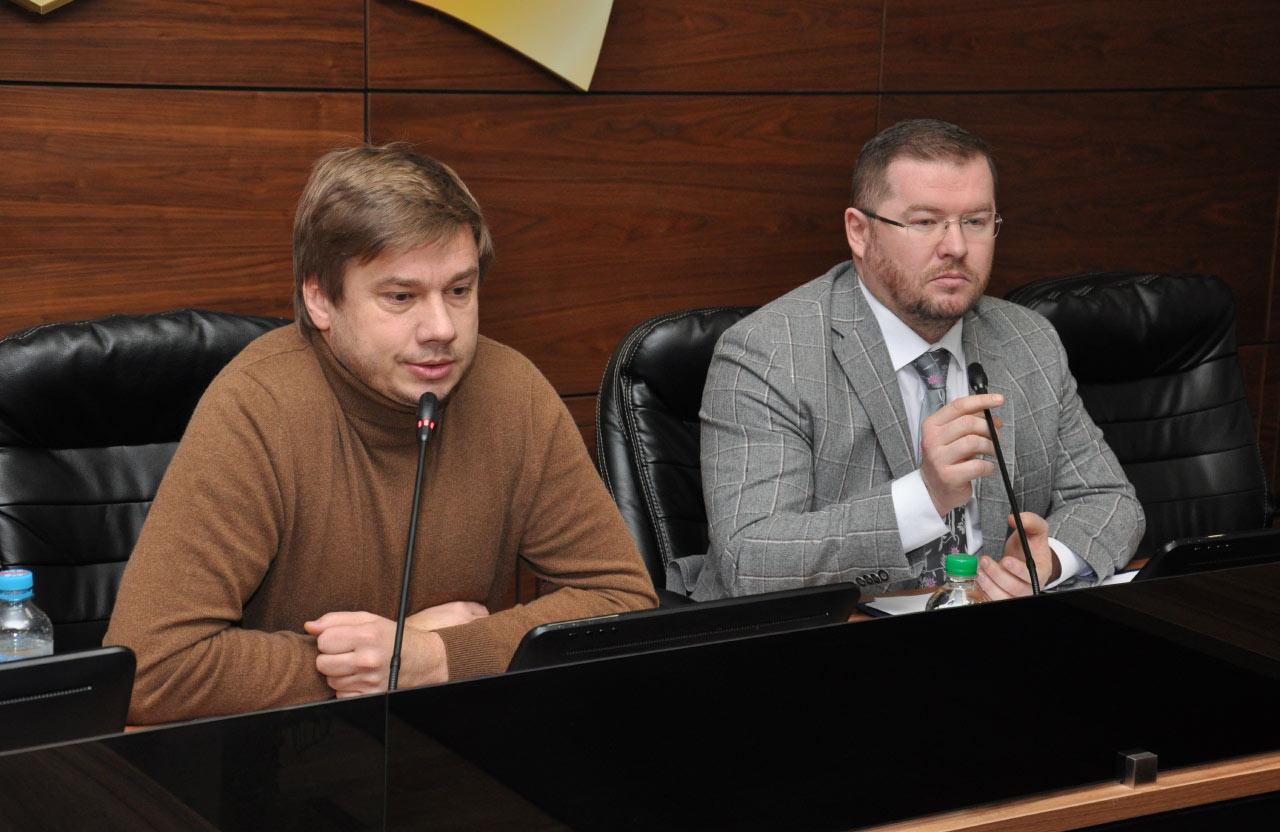 Олександр Біленький та Дмитро Лунін