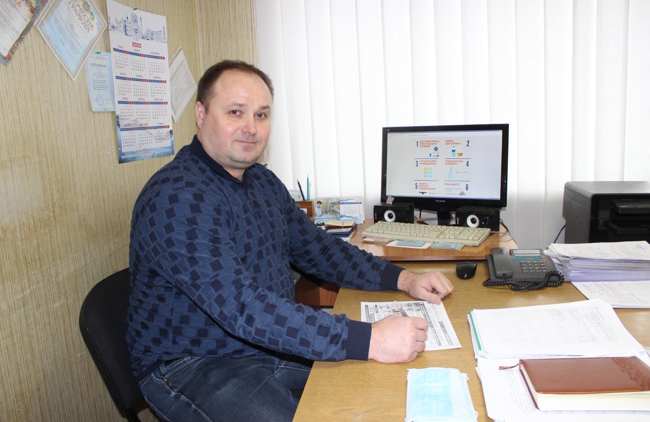 Сергій Циб, заступник генерального директора водоканалу