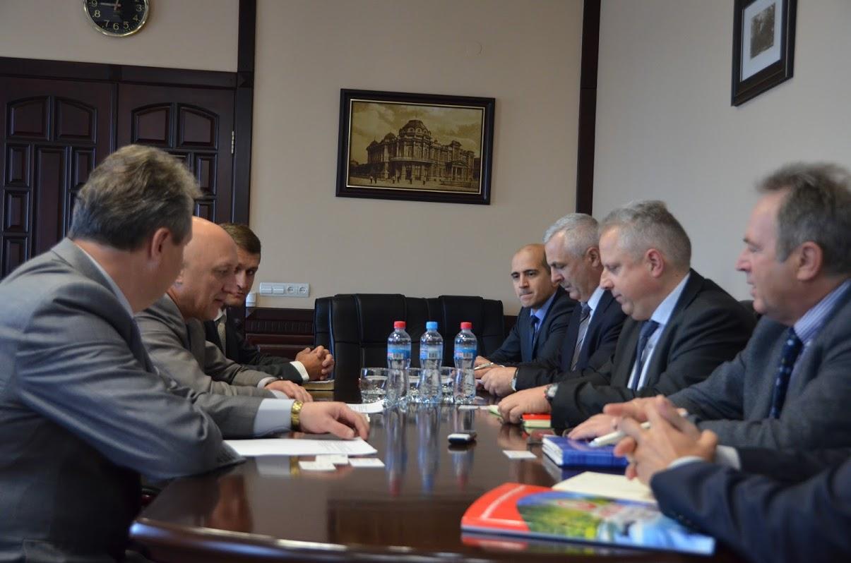 Зустріч представників Полтавської ОДА та французької Veolia